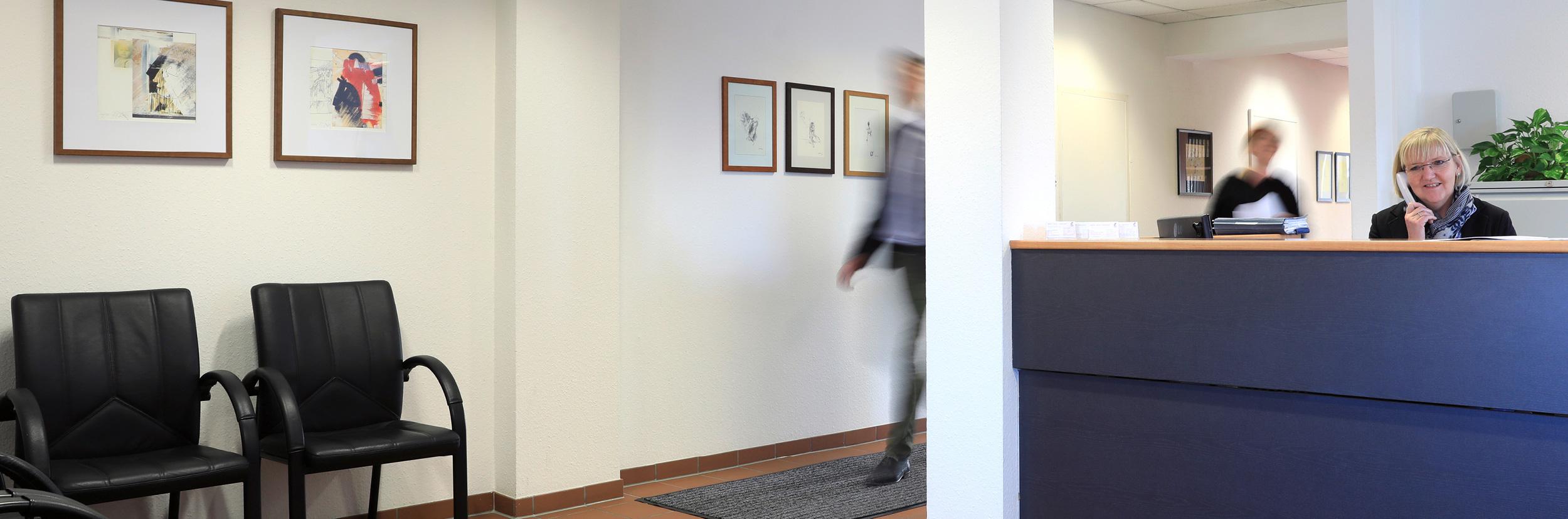 Advoteam Rechtsanwaltskanzlei Eingangsbereich